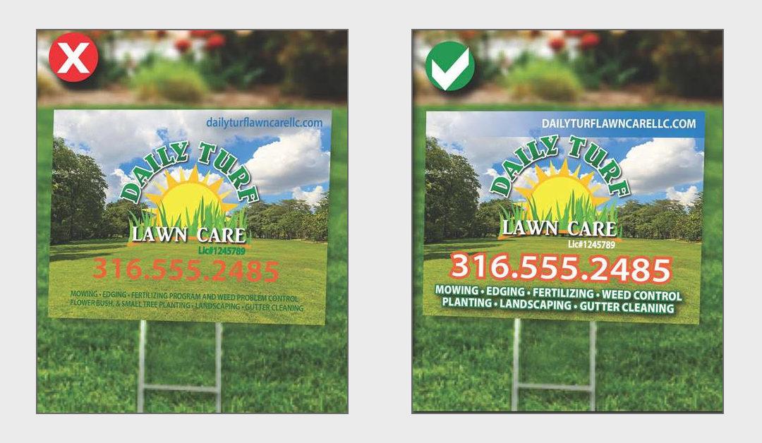Yard Signs - Adeas Wichita